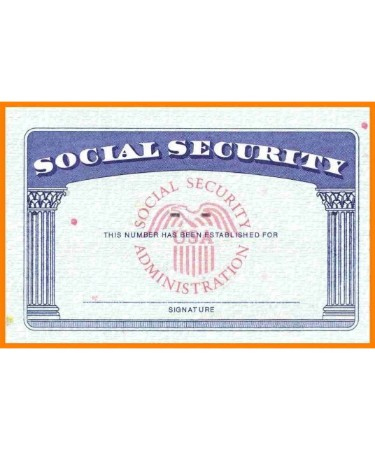 💳 Social Security Card Template Pdf Free Download (Printable) Intended For Blank Social Security Card Template Download