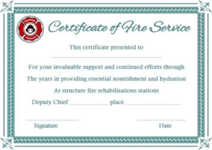 Fire Extinguisher Certificate Template (2) Templates With Regard To Best Fire Extinguisher Certificate Template