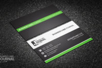 Free Clean & Professional Corporate Business Card Design With Regard To Professional Business Card Templates Free Download