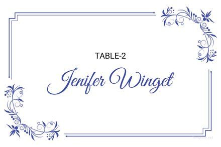 Free Delicate Lace Place Wedding Place Card Template Word With Regard To Free Place Card Templates Download