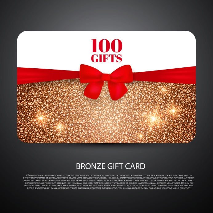 Free Gift Card Design Template With Present Card Template