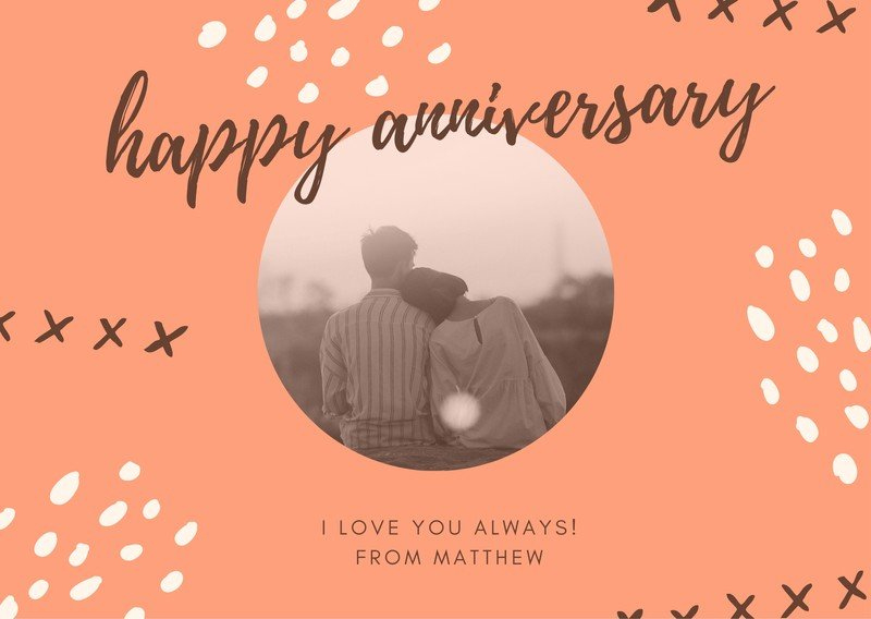 Free, Printable, Customizable Anniversary Card Templates | Canva With Regard To Printable Anniversary Card Template Word
