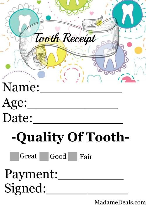 Free Printable Tooth Fairy Letters Real Advice Gal   Tooth In Printable Tooth Fairy Certificate Template Free