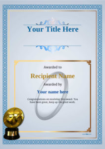 Free Rugby Certificate Templates Add Printable Badges & Medals For Rugby League Certificate Templates