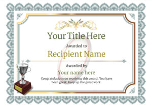 Free Rugby Certificate Templates Add Printable Badges & Medals Regarding Quality Rugby League Certificate Templates