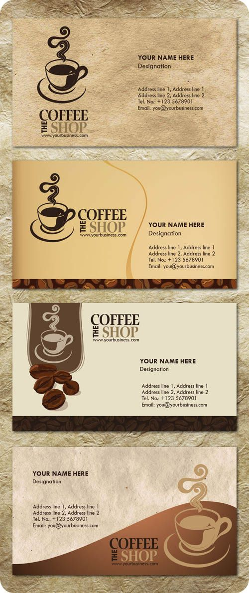 Free Templates Business Card For Coffee Shop Google With Regard To Coffee Business Card Template Free