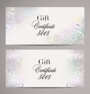 Free Vector Gift Certificate Template Free Vector Download For Free Elegant Gift Certificate Template