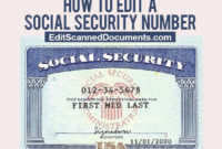 Get New Fake Social Security Card Number Template Fill Pertaining To Fake Social Security Card Template Download