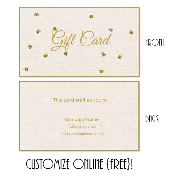 Gift Card Template 101 Gift Certificate Templates | Gift Intended For Present Card Template