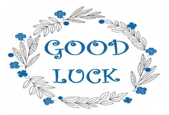 Good Luck Card Template: 13 Templates That Bring Good Luck In Good Luck Card Template