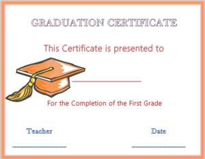 Graduation Gift Certificate Template Free (3) Templates With Regard To Free Graduation Gift Certificate Template Free