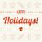 Happy Holidays Card Regarding Happy Holidays Card Template