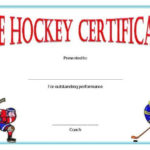 Hockey Certificate Templates In 2020 | Certificate Templates Intended For Quality Hockey Certificate Templates
