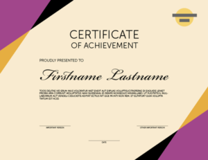 Indesign Template Of The Month: Certificates | Creativepro Regarding Indesign Certificate Template