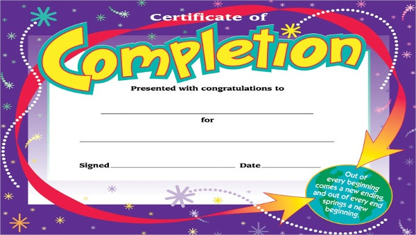 Kids Certificate Template 13+ Pdf, Psd, Vector Format For Printable Certificate Of Achievement Template For Kids