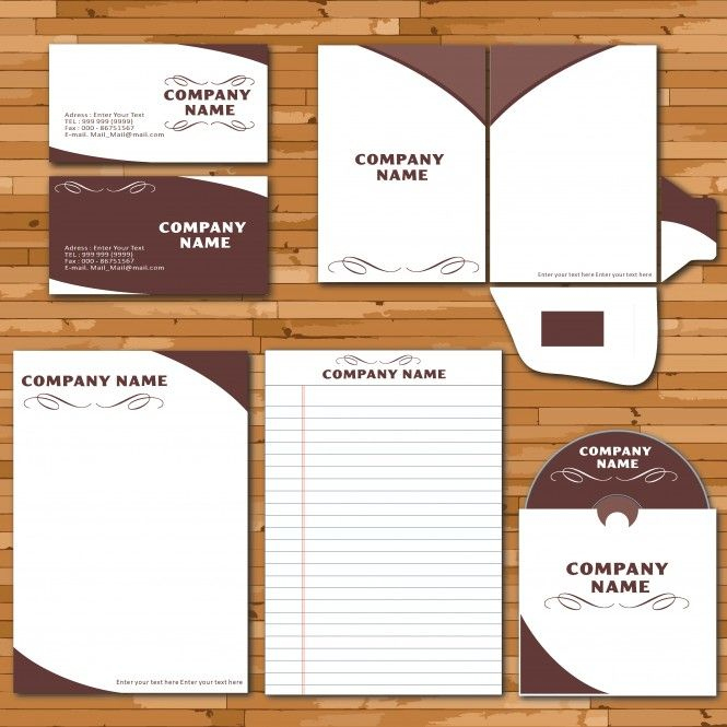 Letterhead Envelope Business Card Set Vector Template In Quality Business Card Letterhead Envelope Template