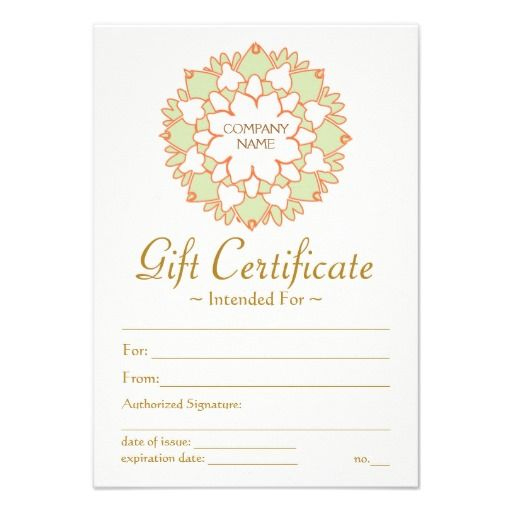 Lotus Healing Arts Gift Certificate | Gift Certificate Throughout Printable Yoga Gift Certificate Template Free