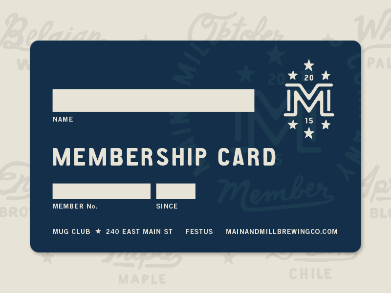 Mmbc // Membership Card | Gym Membership Card, Gift Card Within Template For Membership Cards