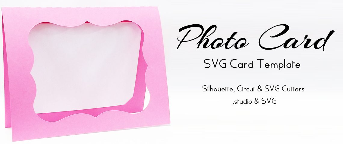 Photo Card – Free Svg Card Template #Silhouettecameo Regarding Quality Silhouette Cameo Card Templates