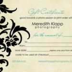 Photography Gift Certificatesgift Certificate For Free Reiki With Free Photography Gift Certificate Template