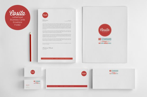 Pin On Business Cards, Letter Head And Envelope With Quality Business Card Letterhead Envelope Template
