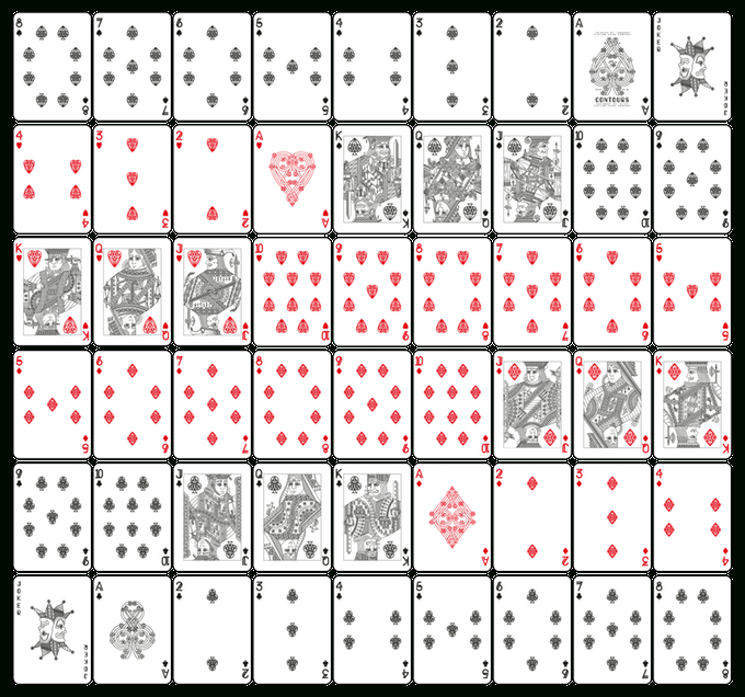 Pin On Crafts With Best Custom Playing Card Template