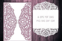 Pin On Cut Out Designs Intended For Quality Silhouette Cameo Card Templates