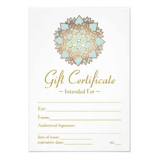 Pin On Gifts To Give To For Yoga Gift Certificate Template Free