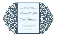 Pin On Invitation Card With Regard To Quality Silhouette Cameo Card Templates