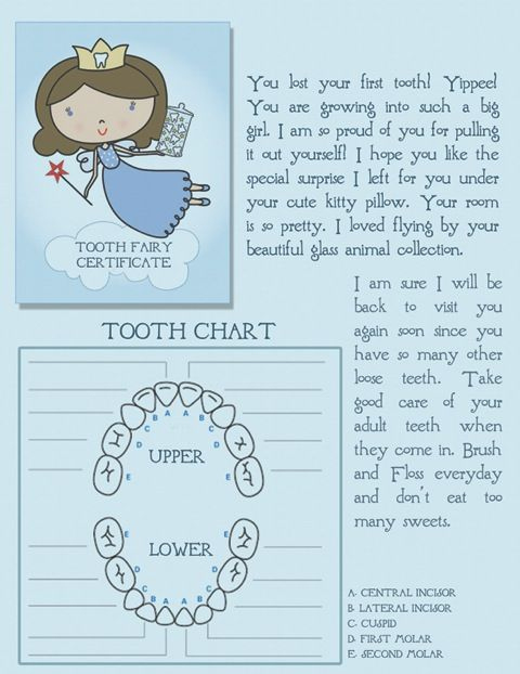 Pin On Kiddos Throughout Tooth Fairy Certificate Template Free