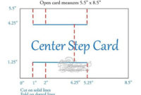 Pin On Paper Craft Tutorials Pertaining To A2 Card Template