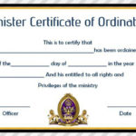 Pin On Spiritual Art With Professional Free Ordination Certificate Template