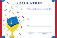 Pinkunno Basics On Projects To Try   Graduation With Regard To 5Th Grade Graduation Certificate Template