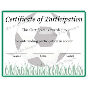 Pinmimi Gallagher On Kids | Soccer Awards, Certificate With Regard To Soccer Certificate Template