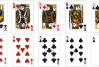 Playing Card Vector Template Throughout Template For Game Cards