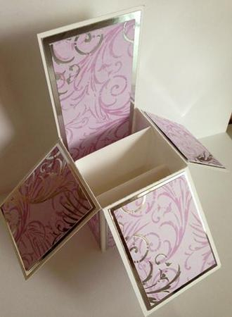 Pop Up Card Box Template Inside Quality Pop Up Card Box Template