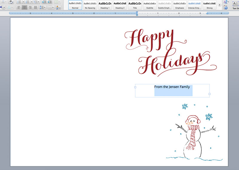 Printable Holiday Cards + Liners On The Paper Chronicles Throughout Free Printable Holiday Card Templates