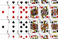 Printable Playing Cards Template Fresh 30 Playing Card Within Best Custom Playing Card Template
