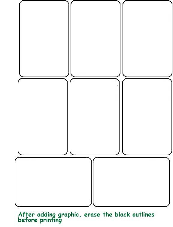 Printable+Blank+Playing+Cards | Printable Playing Cards Within Custom Playing Card Template