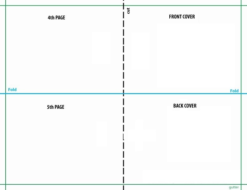 Quarter Fold Card Template ~ Addictionary Within Quarter Fold Greeting Card Template