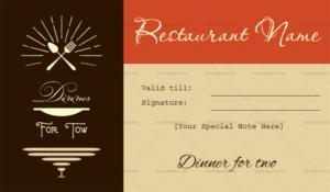 Restaurant Gift Certificate Templates (7+ Editable & Printable) Regarding Best Restaurant Gift Certificate Template