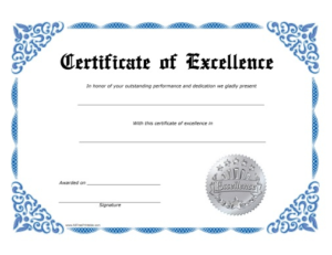Sales Certificate Template (5) Templates Example Within Sales Certificate Template