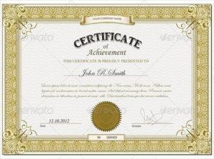Sales Certificate Template ] Certificate Template Within Regarding 11+ Sales Certificate Template