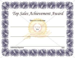 Sales Certificate Template In 2020 | Certificate Templates Regarding Sales Certificate Template