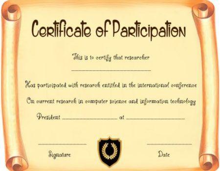 Scroll Certificate Template Printable | Certificate With Regard To 11+ Certificate Scroll Template