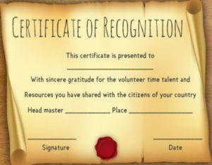 Scroll Certificates Template Free | Certificate Templates Pertaining To Scroll Certificate Templates