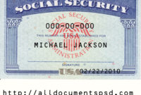 Social Security Card Template Psd | Only $25 Regarding 11+ Fake Social Security Card Template Download