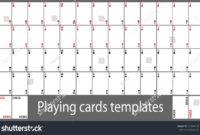 Template: Custom Playing Card Template. Custom Card Game In Custom Playing Card Template
