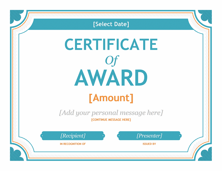 Templates Certificates Gift Certificate Template Word 2007 Throughout Award Certificate Templates Word 2007