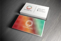Two Sided Business Card Template Awesome 2 Sided Business In 2 Sided Business Card Template Word